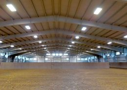 Rocking R indoor arena in Lyons, Colorado